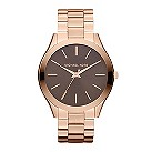Michael Kors ladies' rose gold-plated bracelet watch - Product number 9445625