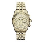 Michael Kors ladies' gold-plated bracelet watch - Product number 9445749