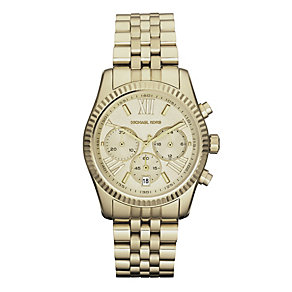 Michael Kors Ladies' Gold Tone Bracelet Watch - Product number 9445749