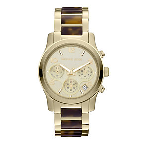 Michael Kors ladies' tortoiseshell effect bracelet watch - Product number 9445900