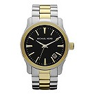 Michael Kors men's two colour stainless steel bracelet watch - Product number 9446044