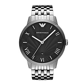 Emporio Armani men's stainless steel bracelet watch - Product number 9446095