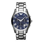 Emporio Armani men's chronograph blue dial bracelet watch - Product number 9446125