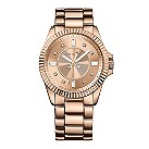Juicy Couture rose gold-plated stone set bracelet watch - Product number 9446214