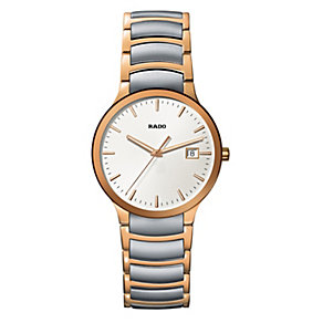 Rado men's steel & PVD gold bracelet watch - Product number 9446613