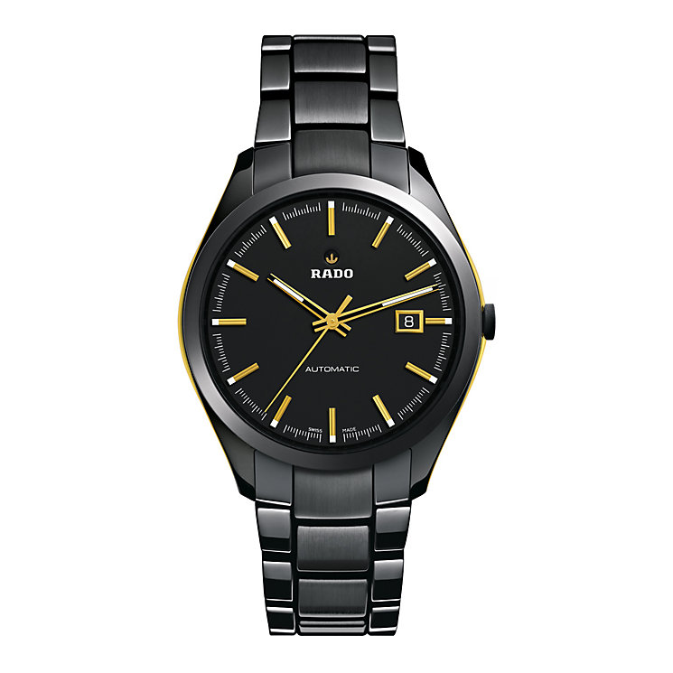 Rado men's automatic black ceramic bracelet watch - Product number 9446664