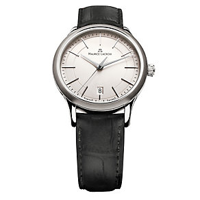 Maurice Lacroix Black Leather Strap Watch - Product number 9446761