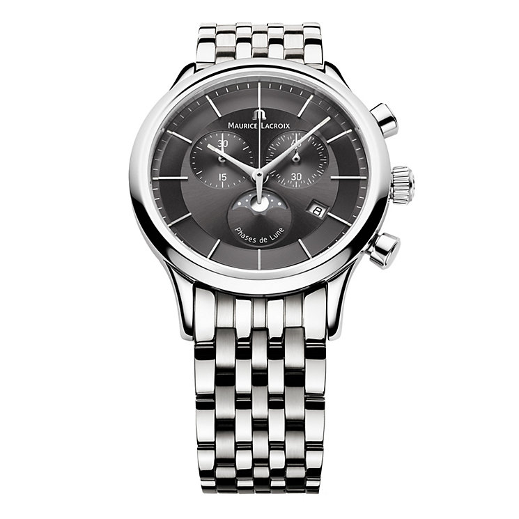 Maurice Lacroix Stainless Steel Bracelet Watch - Product number 9446788