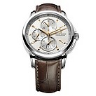 Maurice Lacroix automatic brown leather strap watch - Product number 9446826