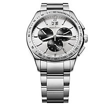 Maurice Lacroix men's stainless steel chronograph watch - Product number 9446869