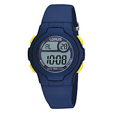 Lorus Children's Blue Digital Watch - Product number 9447113
