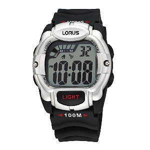 Lorus Black Strap Digital Watch - Product number 9449450