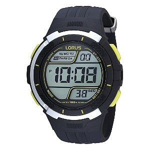Lorus Men's Navy Blue Digital Watch - Product number 9450408