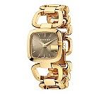 Gucci ladies' yellow gold plated GG bracelet watch, small - Product number 9452168