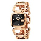 Gucci ladies' rose gold plated GG bracelet watch, small - Product number 9452176