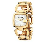 Gucci ladies' yellow gold plated GG bracelet watch - Product number 9452214