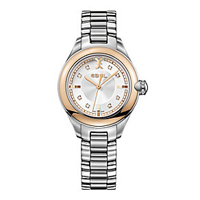 Ebel Onde ladies' rose gold bezel bracelet watch - Product number 9453881