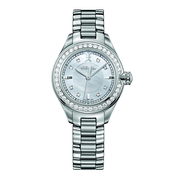 Ebel Onde ladies' diamond set bracelet watch - Product number 9453911
