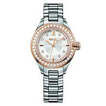Ebel Onde ladies' rose gold bezel bracelet watch - Product number 9453938