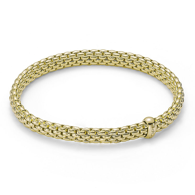 Fope Flex It Vendrome 18ct yellow gold bracelet - Product number 9454055