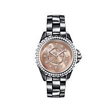 Chanel J12 Chromatic titanium ceramic diamond bracelet watch - Product number 9454128