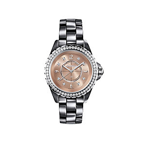 Chanel J12 Chromatic titanium ceramic diamond bracelet watch - Product number 9454128