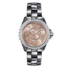 Chanel J12 Chromatic titanium ceramic diamond bracelet watch - Product number 9454152