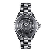 Chanel J12 Chromatic titanium ceramic diamond bracelet watch - Product number 9454160