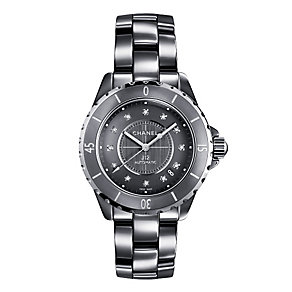 Chanel J12 Chromatic titanium ceramic diamond bracelet watch - Product number 9454179