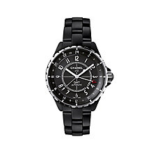 Chanel J12 GMT matte black ceramic bracelet watch - Product number 9454195