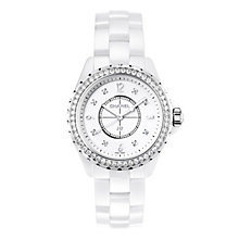 Chanel J12 ceramic diamond set bracelet watch - Product number 9454225