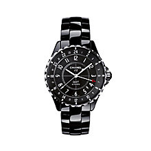 Chanel J12 GMT ceramic & stainless steel bracelet watch - Product number 9454454