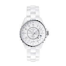 Chanel J12 GMT ceramic & stainless steel bracelet watch - Product number 9454489