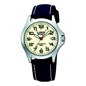 Lorus Lumibrite Ladies' Navy Strap Watch - Product number 9454543