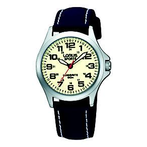 Lorus Lumibrite Ladies' Navy Strap Watch - Product number 9454543