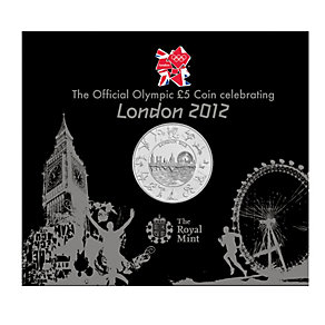 The London 2012 Olympic Brilliant Uncirculated 5 Pound Coin - Product number 9454748