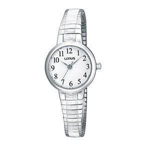 Lorus Ladies' Stainless Steel Expander Bracelet Watch - Product number 9466630