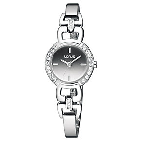 Lorus Ladies' Open Link Swarovski Bracelet Watch - Product number 9466797