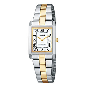 Lorus Ladies' Two Tone Bracelet Watch - Product number 9467319