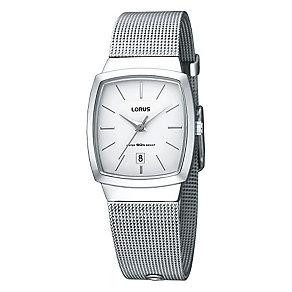 Lorus Ladies' Stainless Steel Mesh Bracelet Watch - Product number 9467475