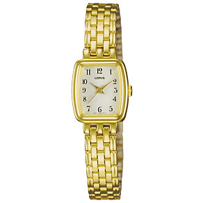 Lorus Ladies' Gold-Plated Bracelet Watch - Product number 9467629