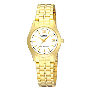 Lorus Ladies' Gold-Plated Bracelet Watch - Product number 9469001