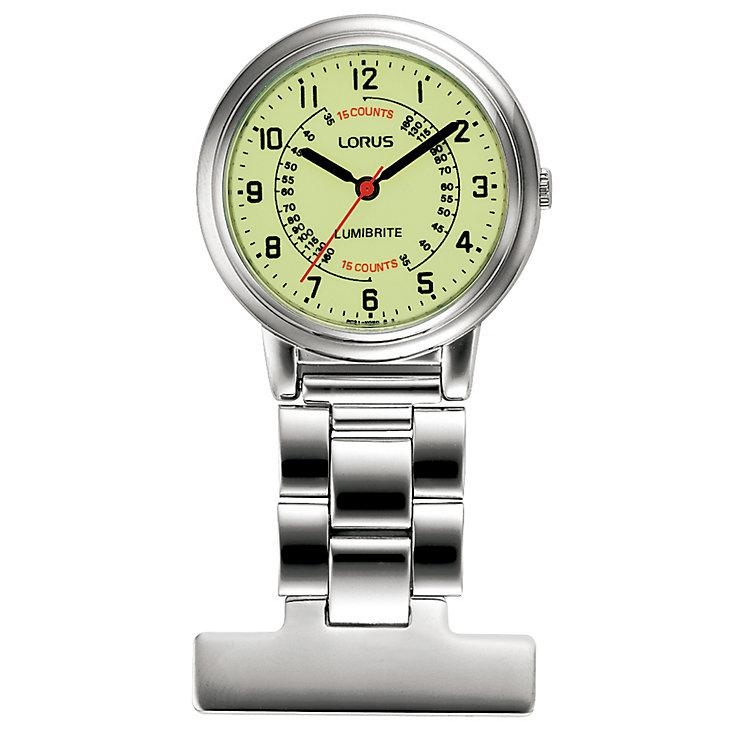 Lorus Lumibrite Nurse's Fob Watch - Product number 9469559