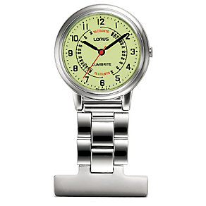 Lorus Lumibrite Nurse's Fob Watch - Product number 9469559