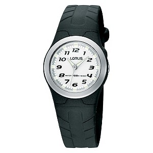 Lorus Children's Black Strap Watch - Product number 9471200