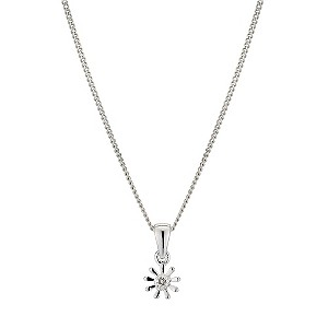 Children's Diamond Set Daisy Pendant - Product number 9497382