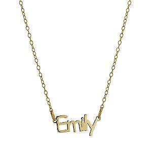Gold-plated silver Emily Necklace - Product number 9501959