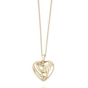 Clogau 9ct Yellow Gold Eternal Love Pendant - Product number 9506101