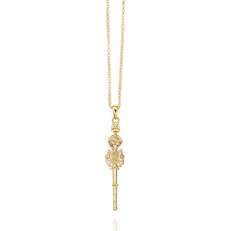 Clogau 9ct Yellow & Rose Gold Jubilee Pendant - Product number 9506179