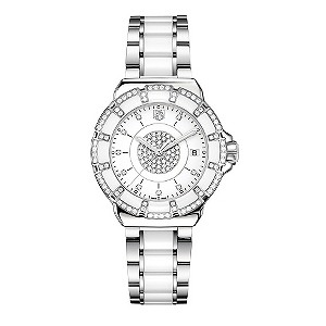 TAG Heuer F1 diamond & white ceramic bracelet watch - Product number 9519076